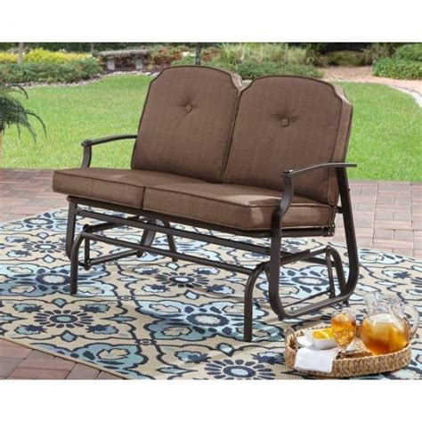 outdoor glider bench metal metal patio glider for sale classifieds