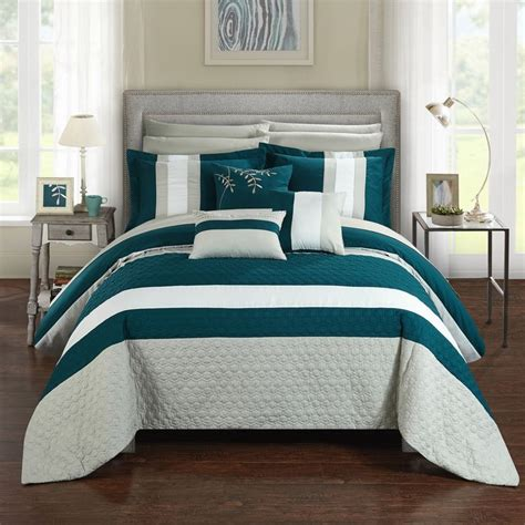 chic bed comforters 17 best ideas about teal comforter on pinterest grey