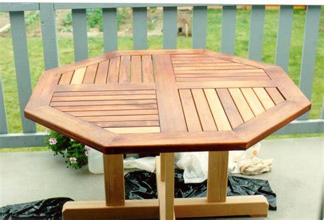 Octagon Picnic Table Plans