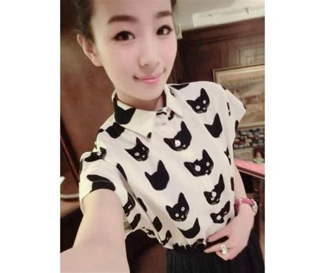 Blouse Cat Story kawaii cat blouse pictures photos and images for and