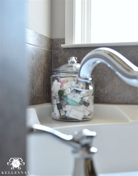 bathroom potpourri ideas 16 ways to style apothecary jars kelley nan