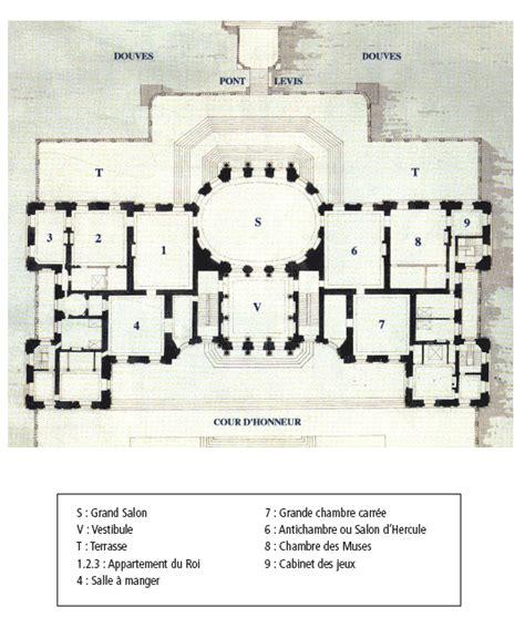Floor Plans Plus by Rep 232 Res Historiques Du Ch 226 Teau De Vaux Le Vicomte 224 Maincy