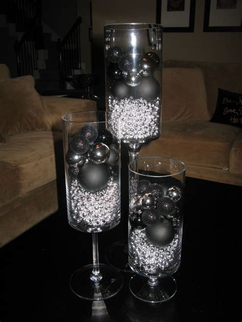 silver table decorations top 25 ideas about black and silver room on