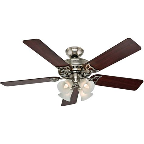52 quot brushed nickel ceiling fan walmart com