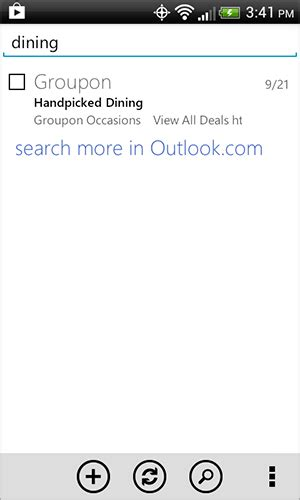 Android Search Email Server Side Search And More Updates To Outlook Android App Office Blogs