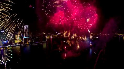 new year 2015 date hong kong new year s 2015 fireworks show in hong kong drone