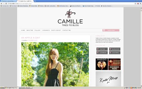 nice layout for blog good exles of popular blogs jackie belo