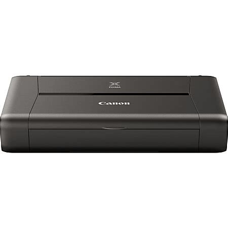 Printer Canon Ip110 canon pixma ip110 wireless color portable inkjet printer 9596b002 by office depot officemax