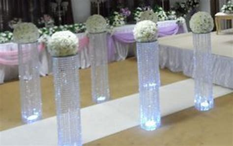 buy wholesale flower stand for wedding decoration