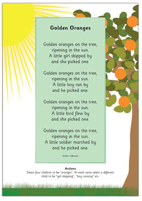 new year poems ks1 golden oranges summer poem eyfs and ks1 free early