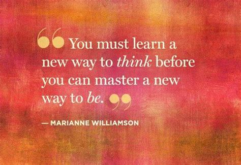 lifestyle organizing a new way to think you must learn a new way to think before you can master a