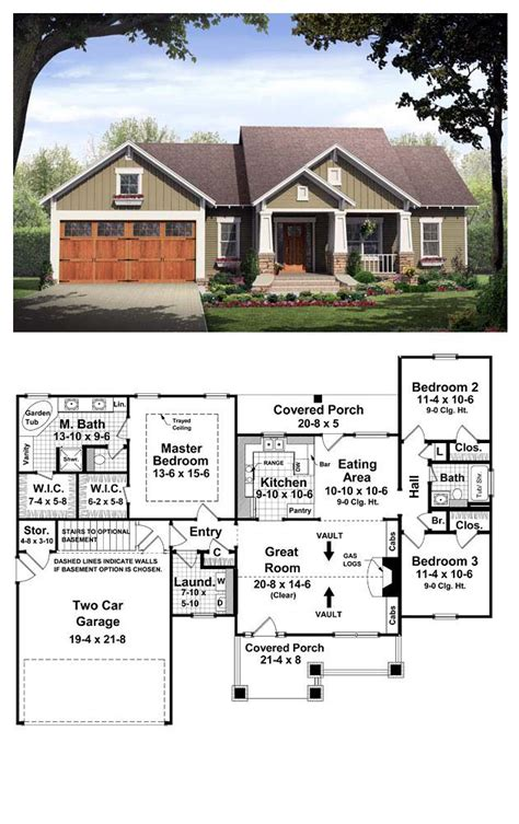 bungalow style cool house plan id chp 37252 total cool