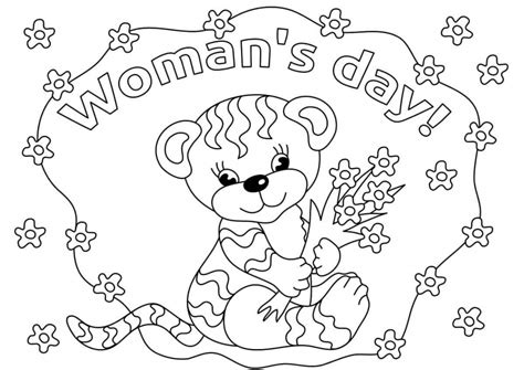 s day printable coloring pages 15 free printable international s day coloring pages