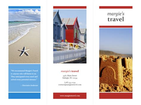 sle travel brochure template free brochure templates the grid system