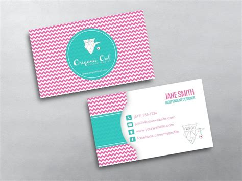 origami business card template origami owl business card 15
