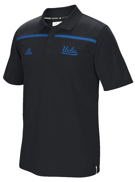 Gamis Polos Kode Gl 021 ucla bruins adidas ncaa 2015 sideline climalite coaches