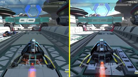 Wipeout Omega Collection Ps4 wipeout omega collection ps3 vs ps4 pro graphics