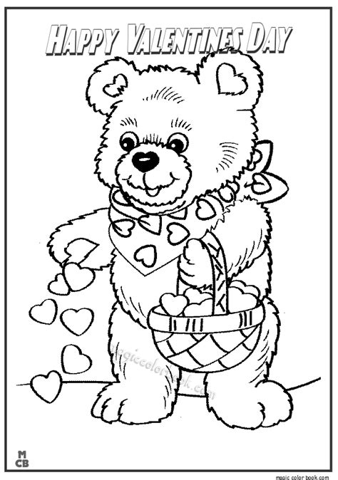happy valentines day coloring pages 10
