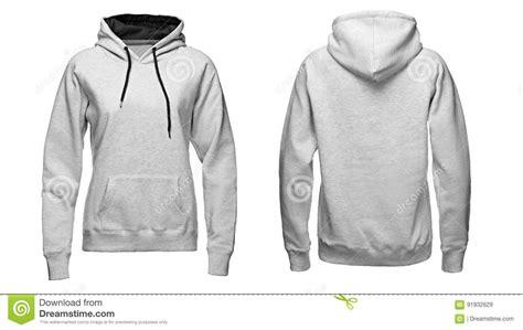 template jaket photoshop hoodie gris maquette de pull molletonn 233 d isolement sur
