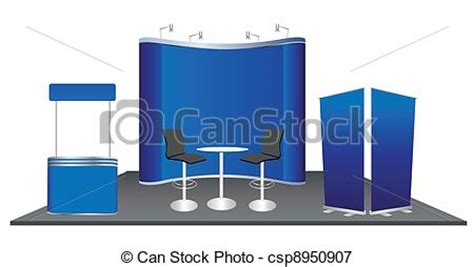 exhibition booth design vector vectors illustration of vector exhibition booth design