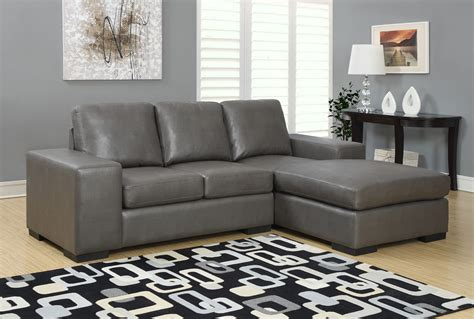 sofa match charcoal gray bonded leather match sofa sectional from