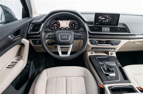 Audi Q5 Interior by 2018 Audi Q5 2 0 Test Review