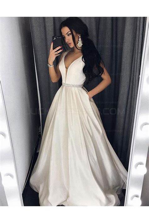 V Neck Prom Dress gown v neck prom evening formal dresses 3021559