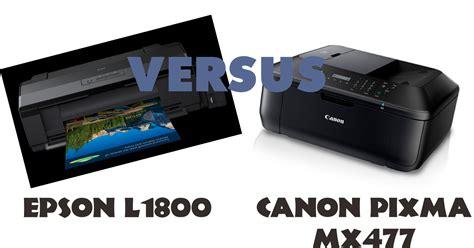 Printer Canon Dan Epson perbedaan kecepatan cetak printer epson l1800 vs canon