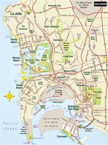 Map San Diego by December 2011 Free Printable Maps