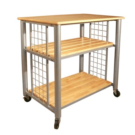 Kitchen Carts Lowes by Catskill Craftsmen Rugged Kitchen Trolley