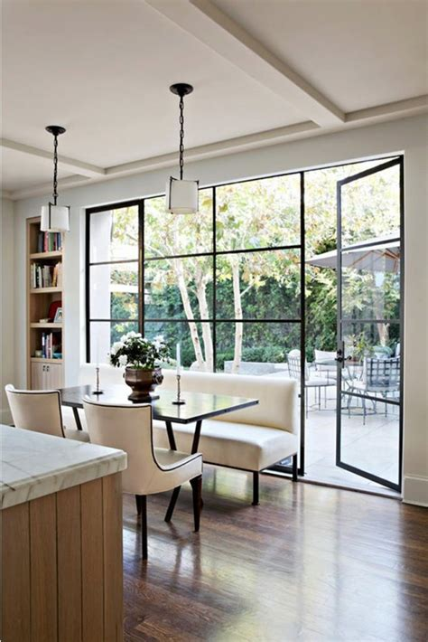 windows interior design black window trim modernize