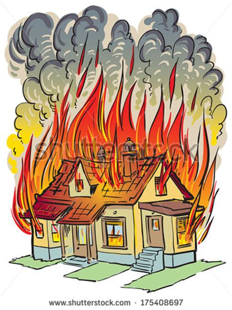 house insurance fire house fire insurance clip art free vector 4vector