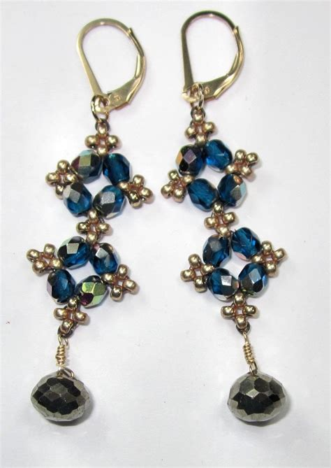beading patterns for earrings best seed bead jewelry 2017 free project easy peasy