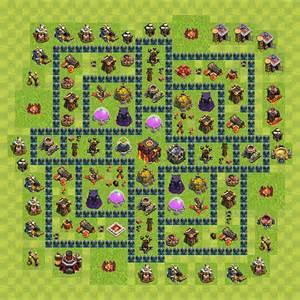 Clash of clans h 244 tel de ville niveau 10 hdv 10 hdv 10