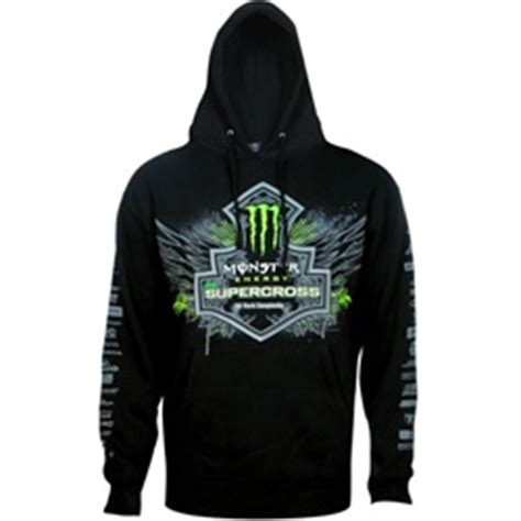 Hoodie Pro Seven Zalfa Clothing energy supercross shield hoodie