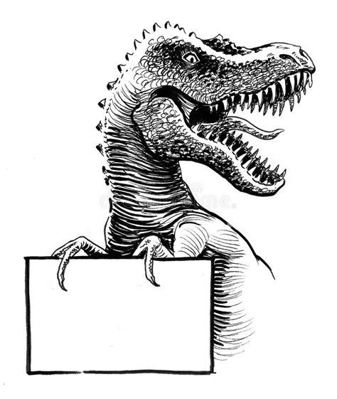 rex  blank sign stock illustration illustration
