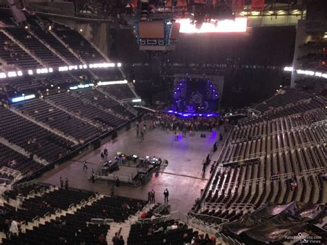 best seats in philips arena for a concert philips arena section 302 concert seating rateyourseats