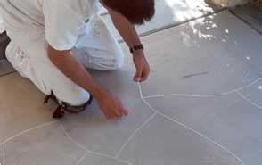 grout line pattern tape barth s takes faux finishing to a new level the concrete