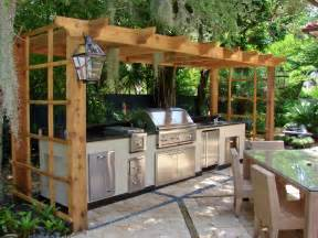 Backyard Kitchen Ideas by Outdoor Kitchen Ideas Afreakatheart