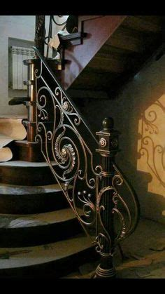 Fer Forge Stairs Design Wrought Iron Stair Railing Ideas Luxury Classic Staircase Design Staircases Pinterest