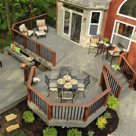 Patio Design Plans Free Custom Deck Designs Geneva Deck