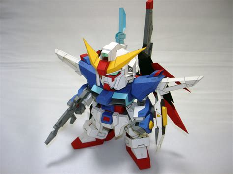 Sd Gundam Papercraft - gundam papercraft c donuts