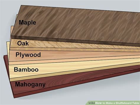 how to a shuffleboard table how to a shuffleboard table with pictures wikihow