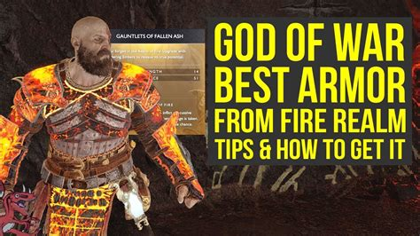 best armour god of war best armor sets from the realm tips