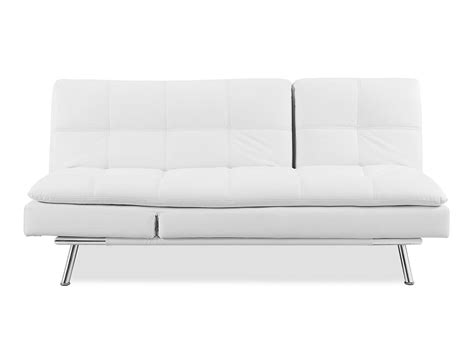 white convertible sofa palermo convertible sofa white by serta lifestyle
