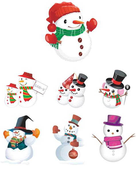 snowman clipart snow vector graphics page 9