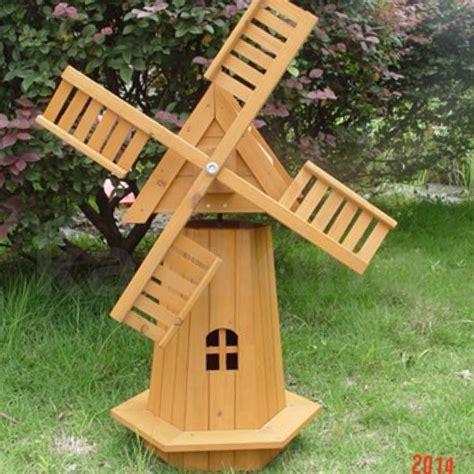 wooden decor windmill outdoor garden windmill wooden decor lawn ornament moving
