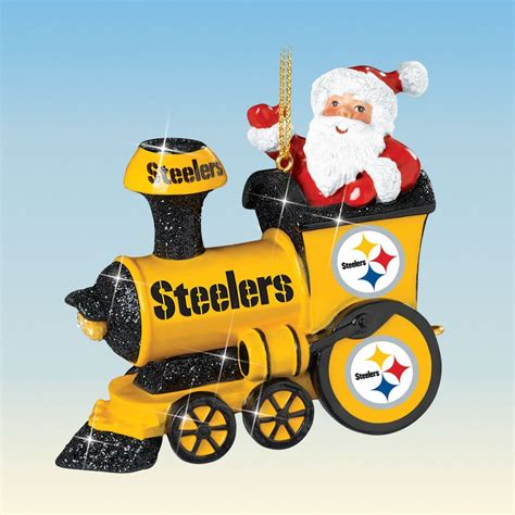 steelers christmas pics pittsburgh steelers ornament collection your 1st one is free the danbury mint