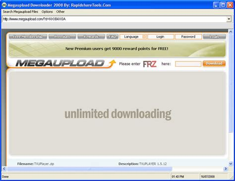 megaupload search downloads megaupload downloader 2008 easily bypass country slot