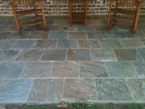 Slate Patio Autumn Slate Patio Traditional Deck Houston By